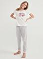 Penti Kız Cocuk  Pijama Takımı  Ana Kumaş Cotton 100,00 Ana Kumaş Cotton 70,00 Ana Kumaş Polyester 30,00   Renkli